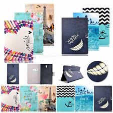 Fashion MM Leather Wallet Case Cover For Samsung Galaxy T815 T715 T560 T550 T530
