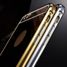 """Luxury Mirror Ultra-thin Aluminum Frame Metal Case Cover for iPhone 6/6s 4.7"""""""