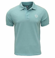 Sergio Tacchini Men's Heigham Polo T Shirt Bluebell Blue