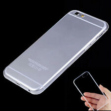 Ultra Thin Crystal Clear/ Matte Soft TPU Case Skin Cover For iPhone 6 6S/6S Plus