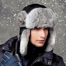 Winter Warm Aviator Bomber Faux Fur Winter Ski Trooper Trapper Ear Flap Hat Cap