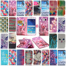 Hot -YX Leather Stand Wallet Case Cover For Samsung Galaxy G350 G530 S3 S4 S5 J1