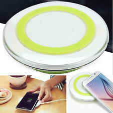 QI Wireless Charger For Samsung Galaxy S6 Edge + Plus Note 5 Fast Charging Pad