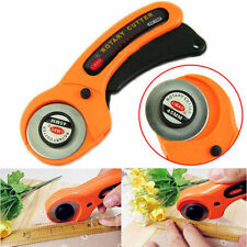 28/45mm Rotary Circular Hand Cutter Sewing Quilting Fabric Craft w/ Blade Opt