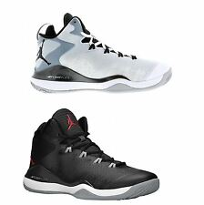 Nike Jordan Super Fly 3 Leather  Mens Basketball Hi Tops Lace Up Trainers
