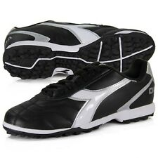 Men's Diadora Capitano LT Turf Soccer Cleat - Black/White/Silver - NIB!
