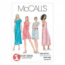 McCalls Ladies Sewing Pattern 6102 Dress In 2 Lengths with Cup Sizes (McCalls...