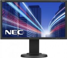 NEC Black 22in LCD Computer Monitor 60003584