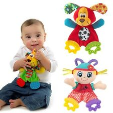 Baby Infant Kids Animal Soft Appease Towel Toys Funny Doll Teether Developmental
