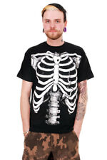 White Skeleton Men's t-shirt Punk/Rock  Emo
