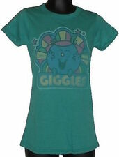 T-Shirts New Junk Food Little Miss Giggles Juniors T-Shirt in Green