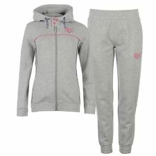 Everlast Womens Small Logo Jog Suit Full Tracksuit Set Top Bottoms Sports Ladies