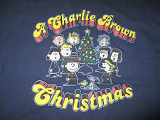 """Peanuts Gang SNOOPY and Woodstock """"A CHARLIE BROWN CHRISTMAS"""" (XL) T-Shirt"""