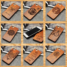 Fashion Wooden Hybrid Pattern Hard Phone Case Cover Pattern For iPhone 6 6S Plus