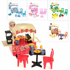 Plastic Children Kids Pretend Play Toys Car Table Chairs Food Gift