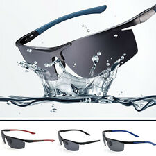Mens Outdoor Sports Polarized Sunglasses Aviator Eyewear Driving UV400 Glasses
