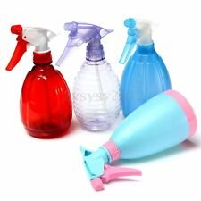 160~500ml Empty Hand Trigger Water Spray Plastic Bottle Cleaning Gardening NEW