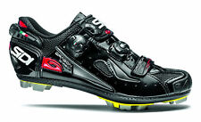 SIDI DRAGON 4 CARBON SRS VERNICE MTB BIKE SHOES BLACK