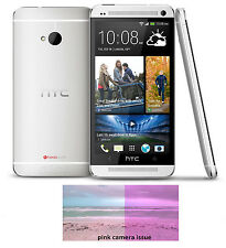 HTC M7 32GB Verizon Unlocked 4G Smartphone beats audio HTC6500LVW Silver & Blue
