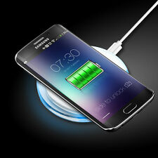 Clear Qi Wireless Fast Charger Charging Pad Mat For Samsung LG iPhone HTC Moto