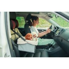 Booster Car Seat Auto Pet Dog Cat Carrier Puppy Safety Basket Sheepskin Travel