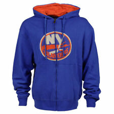 New York Islanders Old Time Hockey Conway Full Zip Hoodie - Royal Blue - NHL