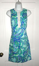 NWT LILLY PULITZER POOLSIDE BLUE KEEP IT CURRENT PENELOPE DRESS 6 8 10 12 14