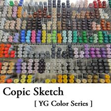 NEW Too Copic Sketch Marker Pen [ YG Color Series ] Free Shipping Japan f/s