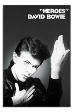 David Bowie Heroes Album Cover Official Poster New - Maxi Size 36 x 24 Inch
