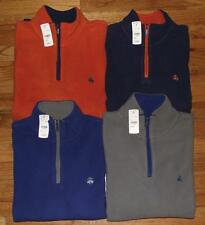 NEW NWT Brooks Brothers Mens Polar Fleece Pullover Fleece Jacket $79.50 4-Colors