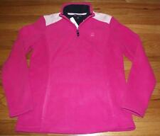 NEW NWT Brooks Brothers Womens Polar Fleece Pullover Jacket $69 Pink Gingham