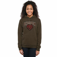 Brown Bears Womens Classic Primary Pullover Hoodie - Brown - College