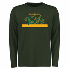 William & Mary Tribe Team Strong Long Sleeve T-Shirt - Green - College