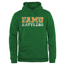 Florida A&M Rattlers Classic Wordmark Pullover Hoodie - Kelly Green - College