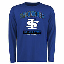 Men's Royal Indiana State Sycamores Campus Icon Long Sleeve T-Shirt - College