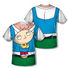 T-Shirts Sizes S-3XL New Family Guy Stewie Carrier Vibrant Color TShirt