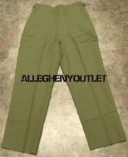 US Army Military Korean Era M-1951 Wool Cold Weather Field Trousers Pants USED