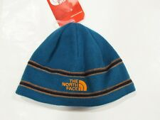 New with tag NWT Boys The North Face Egyptian Blue Youth Winter Logo Beanie S M