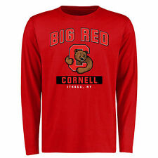 Cornell Big Red Big & Tall Campus Icon Long Sleeve T-Shirt - Red - College