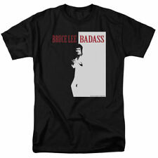 T-Shirts Sizes S-5XL New Authentic Mens Bruce Lee Badass Tee Shirt