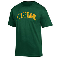 Mens Notre Dame Fighting Irish Forest Green Champion Basic Arch T-Shirt