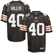 Reebok Peyton Hillis Cleveland Browns Historic Logo Youth Replica Jersey - Brown