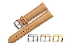22mm 20mm Genuine Calf Leather Watch Band Pre-V Tang Clasp Strap For Tissot
