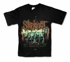 "SLIPKNOT ""CORROSION LOGO"" ALL HOPE BLACK T-SHIRT NEW OFFICIAL METAL BAND MUSIC"