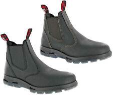 Redback Leather Steel Toe Cap Safety Dealer Work Mens Ankle Boots Size 6-12