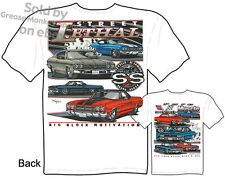 Chevelle T Shirt Chevy Shirt Muscle Car Clothing 65 66 67 68 69 70 SS El Camino