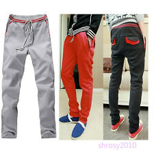 Fashion Mens Casual Jogging Training Baggy Sport Running Pants Trousers BFB0018