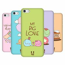 HEAD CASE DESIGNS KAWAII ELEPHANT HARD BACK CASE FOR APPLE iPHONE 5C