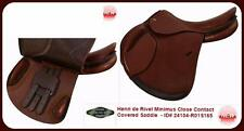 HDR Henri de Rivel REGULAR MINIMUS Close Contact Covered Saddle Oak Bark All Sz