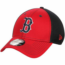 Boston Red Sox New Era Team Front Neo 39THRITY Flex Hat - Red/Navy - MLB